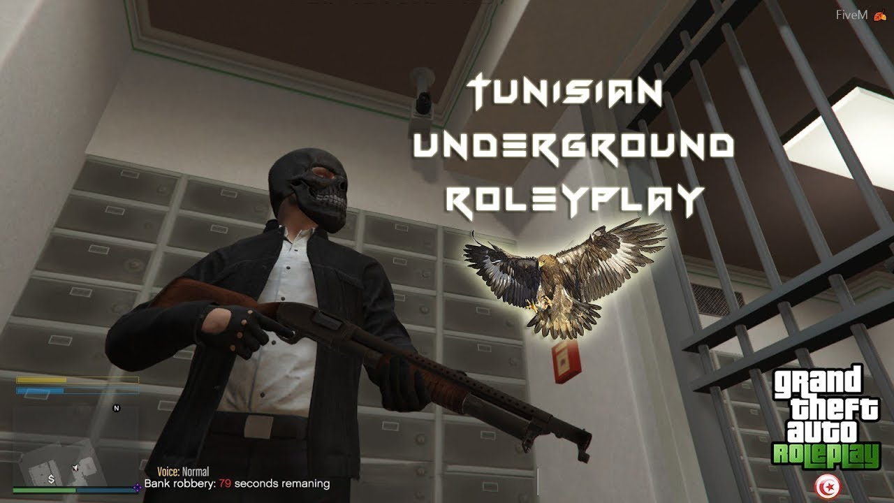 GTA 5 RP Online Tunisian Underground @Ghostkop