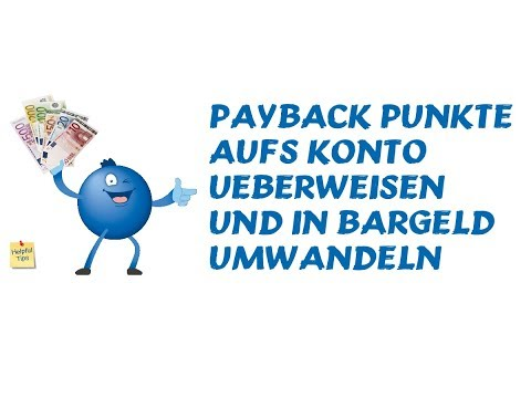 payback punkte bar auszahlen