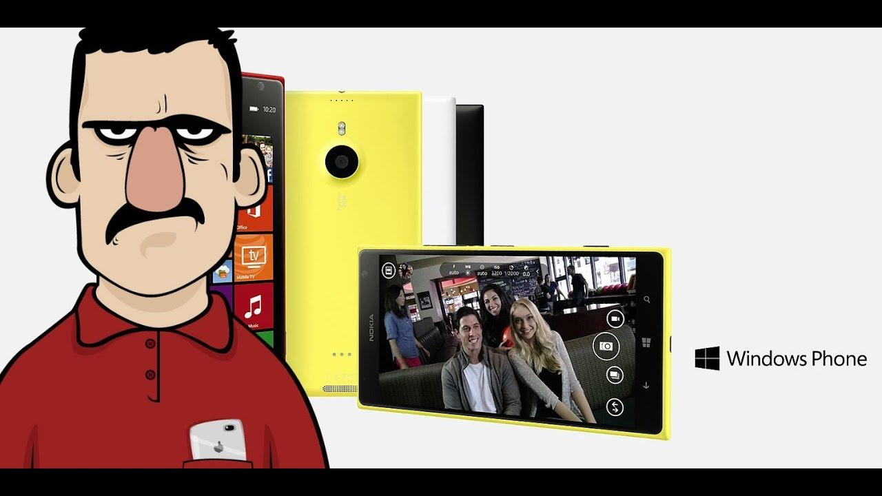 Teknolojiye Atarlanan Adam - Nokia Lumia 1520 incelemesi