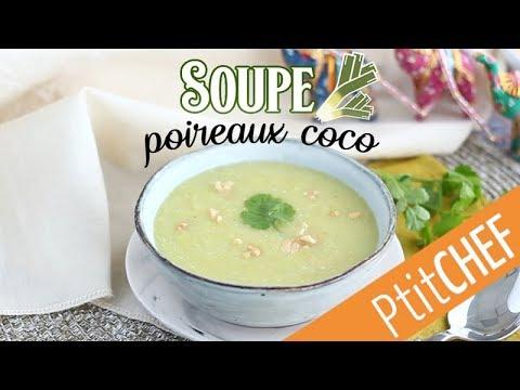 recette-de-soupe-aux-poireaux,-lait-de-coco,-curry---ptitchef.com