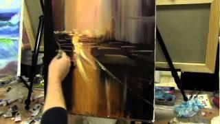 Уроки масляной живописи в Москве и Питере, городской пейзаж маслом