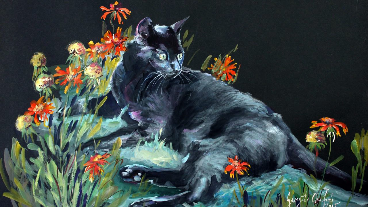Can Cats Paint