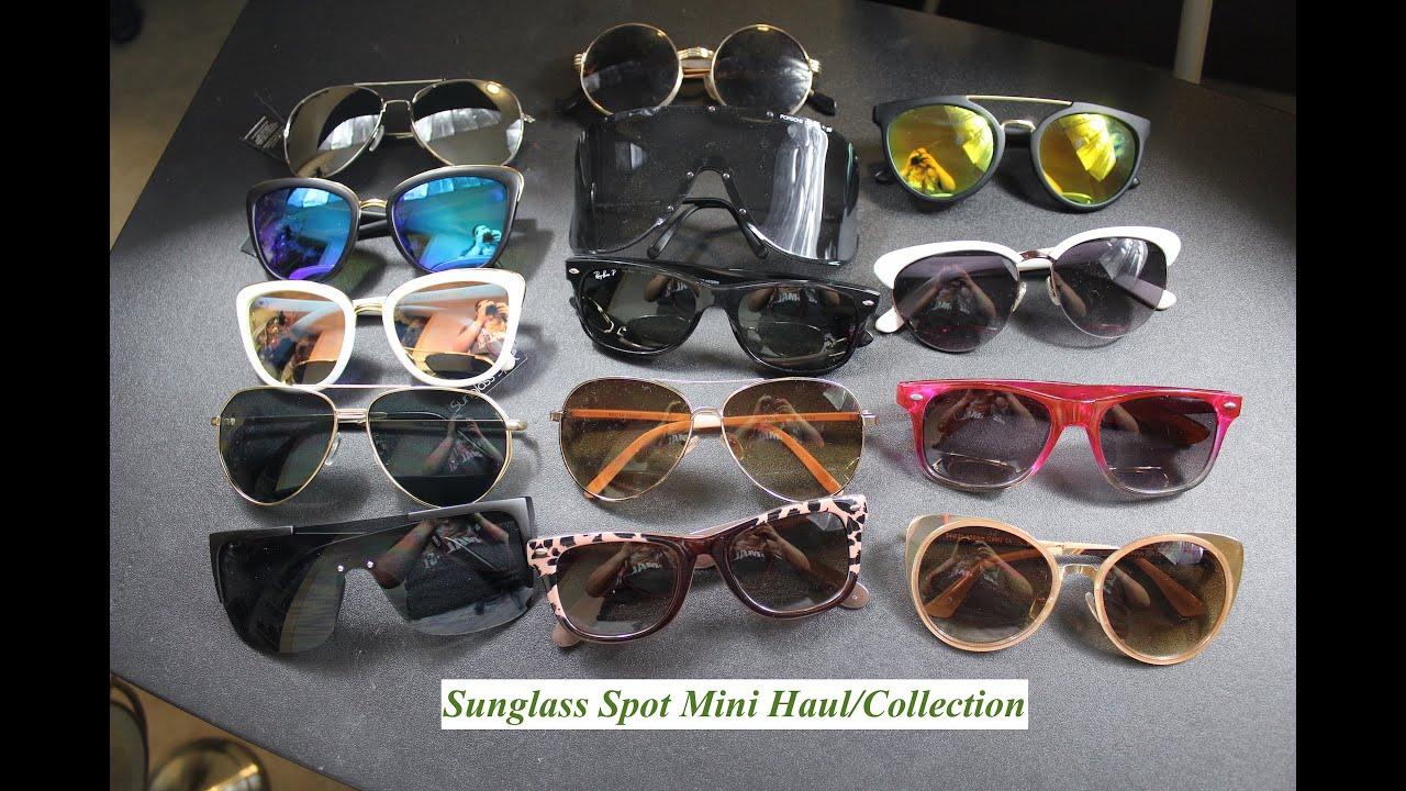 8b29ca6e89  5 Sunglass Spot Mini Haul  Sunglass Collection - YouTube