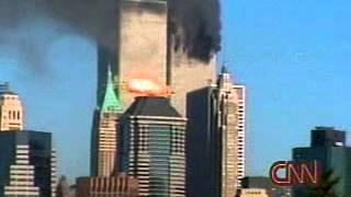 Disco Voador aparece na hora do Impacto do Avião em 11 de setembro, vejam!