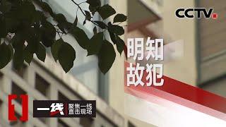 《一线》 明知故犯 20200521 | CCTV社会与法