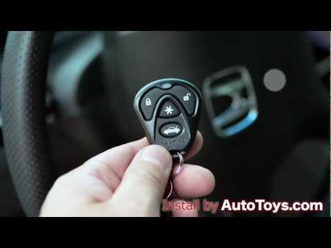 Honda Accord 03-07 Remote Start, Avital and iDatalink by Autotoys.com