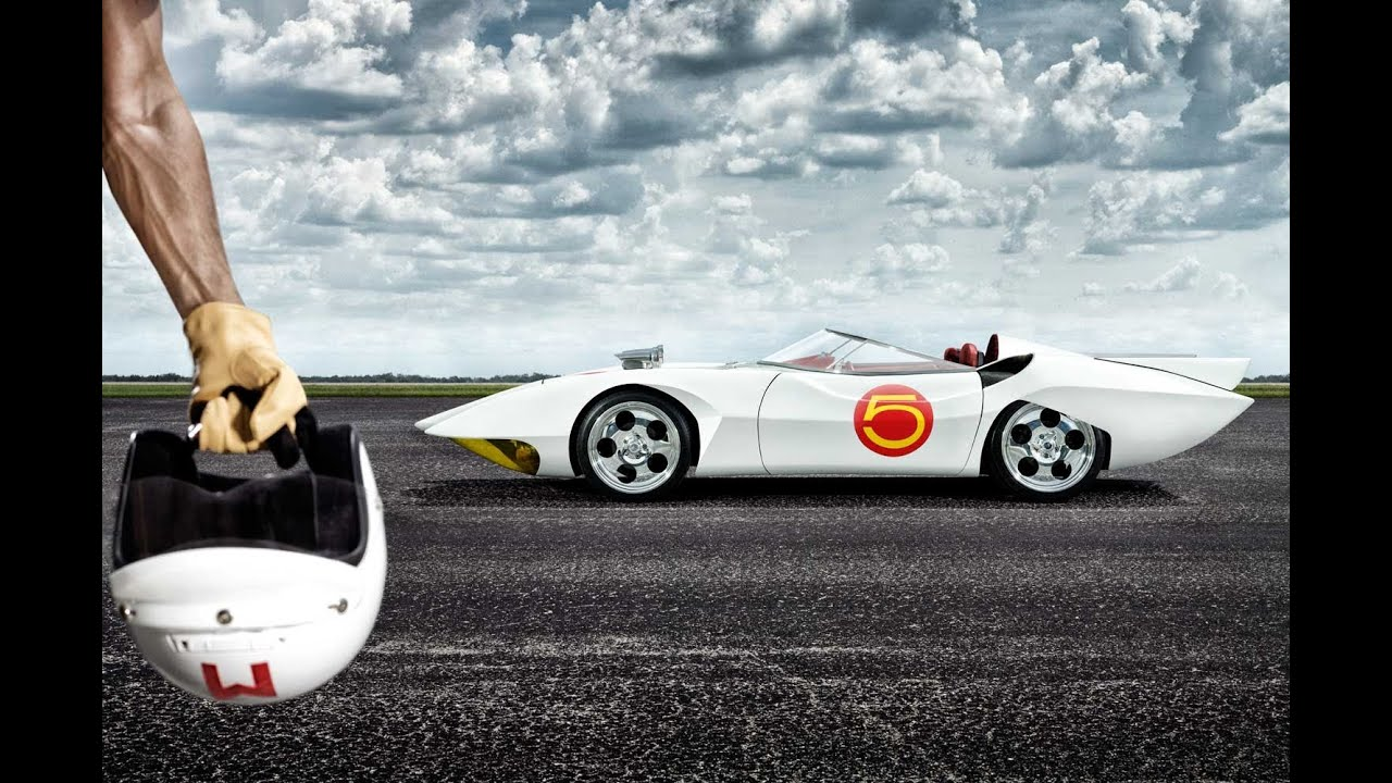 The real speed racer mach 5 photoshoot by douglas sonders