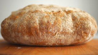 Ароматный хлеб Деревенский на спелом тесте Pâte Fermentée Оld Dough
