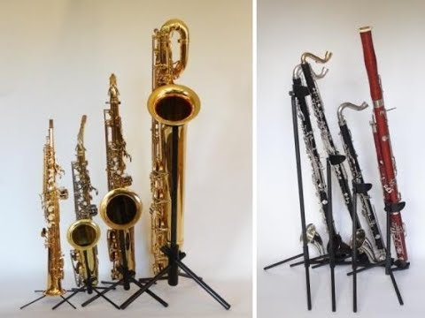Introducing WoodWindDesign's carbon instrument stands August 2017