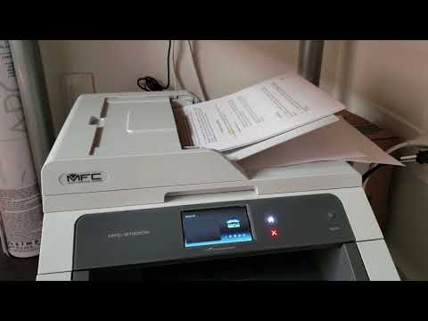 How To Scan Multiple Pages To Computer - Brother Printer To Mac