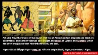 Black or White Jesus: Carnal Minds?