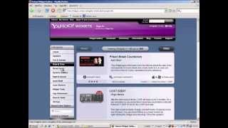 TGP04 - Yahoo Widgets Introduction for SAP