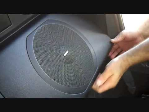 How To Nissan 350z Bose Subwoofer And Amplifier Removal