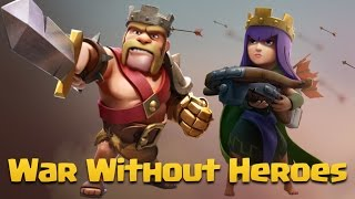 TH9 War Attack   Best Strategy Without King & Queen   War Without Hero Part 21