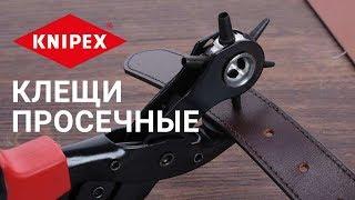 Обзор просечных клещей KNIPEX 9070220