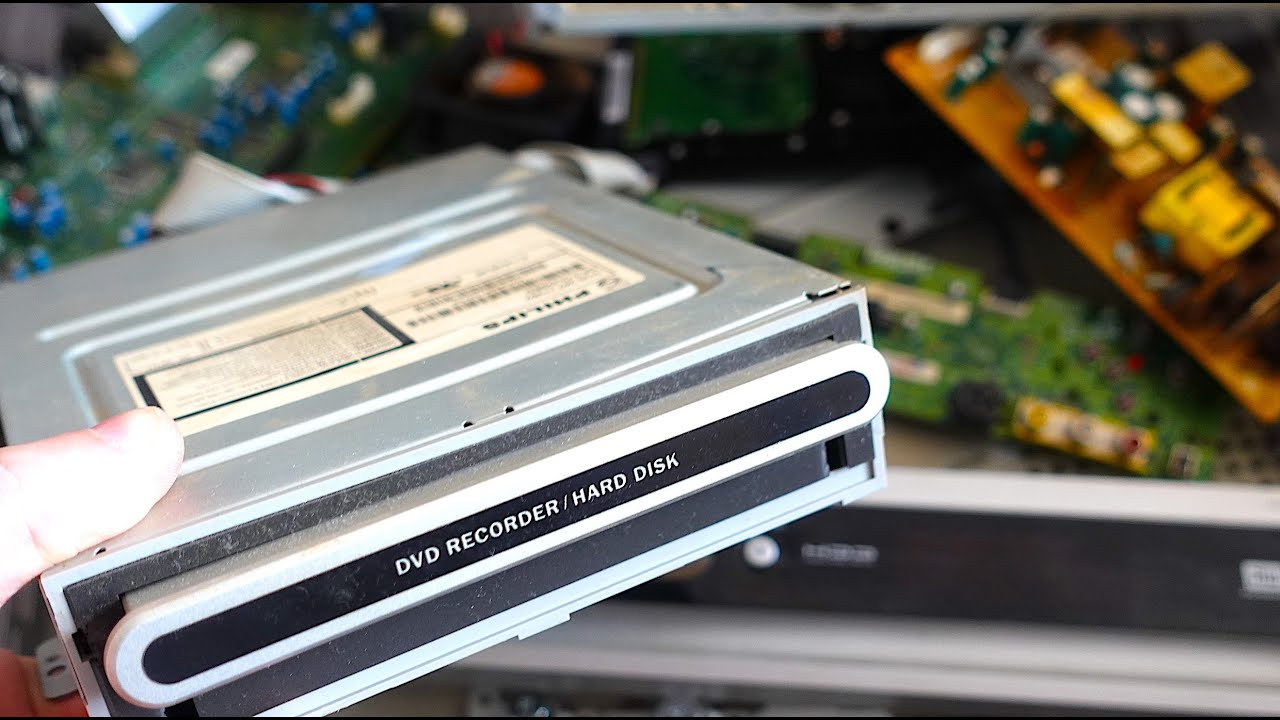 Download DVD hdd recorder replace optical drive