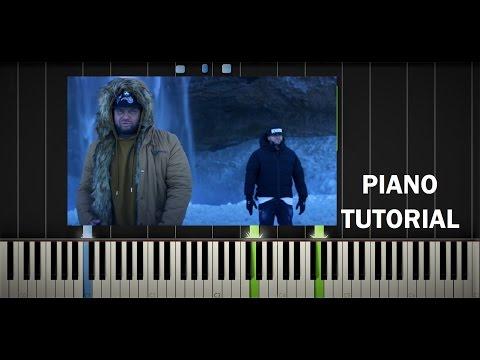 RYTMUS - KEĎ SA BUDÚ PÝTAŤ ft. KALI - Piano Tutorial / Cover - Synthesia