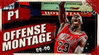 Michael Jordan EPIC Offense Highlights Montage 1989/1990 (Part 1)