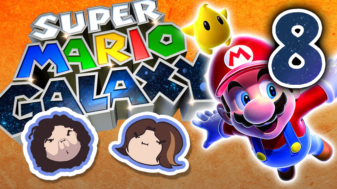 Super Mario Galaxy: Trial and Error - PART 8 - Game Grumps