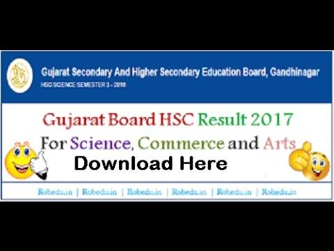 GSEB HSC Result 2017, Gujarat 12th Science, Arts, Commerce Result 2017
