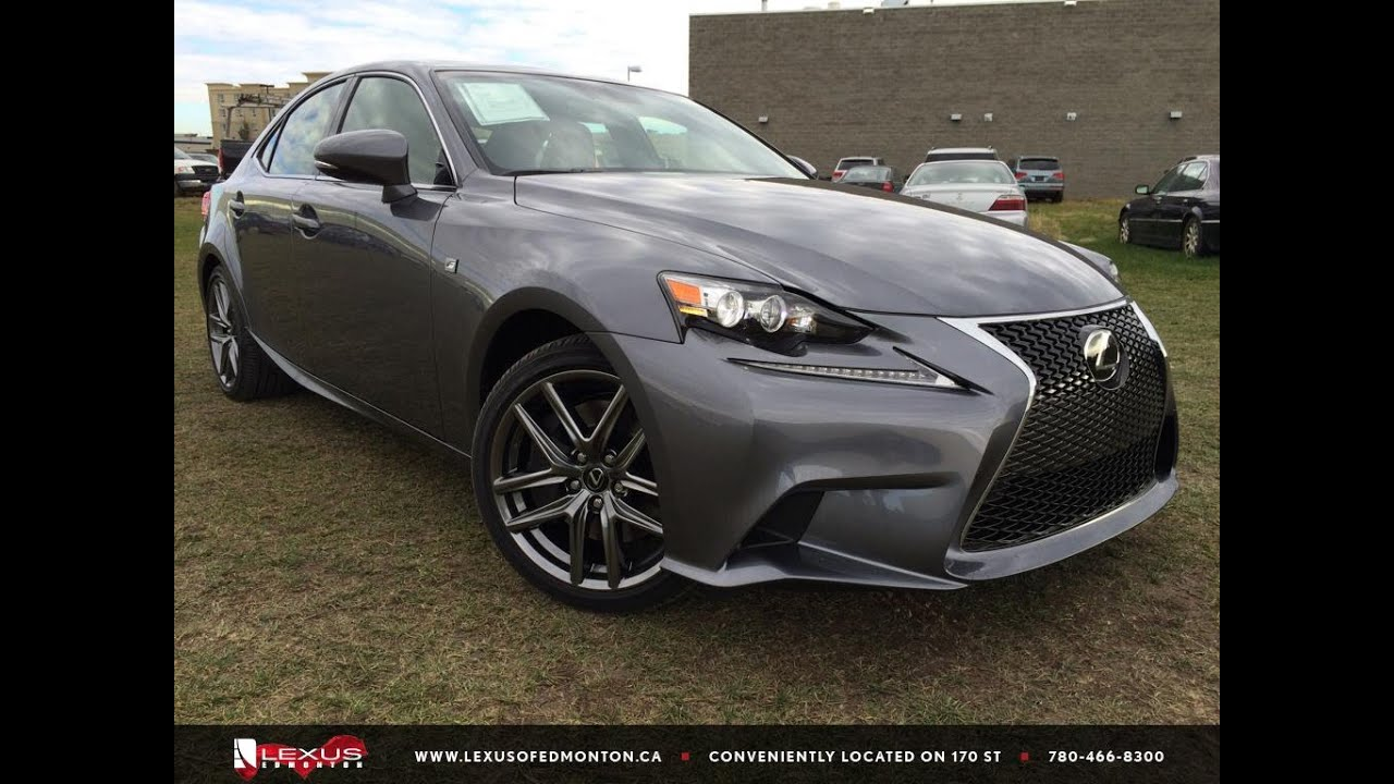2016 Lexus IS 350 AWD F Sport Series 2 Review
