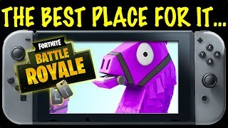FORTNITE on NINTENDO SWITCH! - The BEST PLACE FOR IT?  (Paladins too It seems)