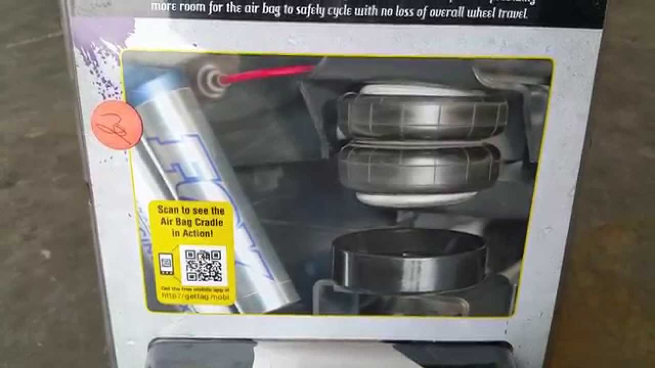 Air Bag Suspension >> Daystar Suspension Air Bag Cradle - YouTube