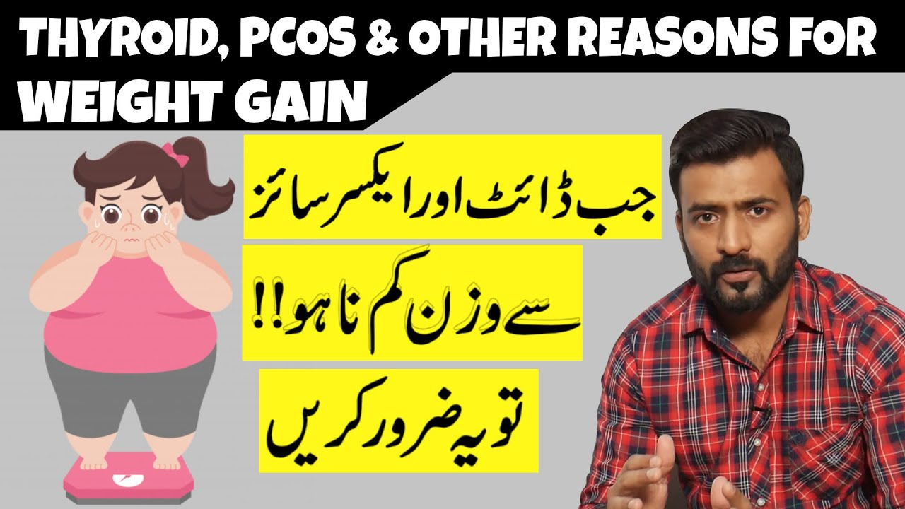 Weight Loss: Diet and Exercise Not Working | Thyroid, PCOS and Other Reasons of Weight Gain
