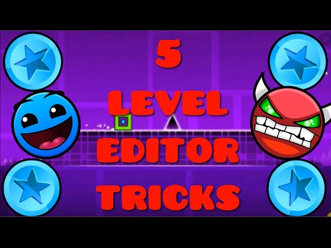 Top 5 Level Editor Tricks You Need To Know | Geometry Dash