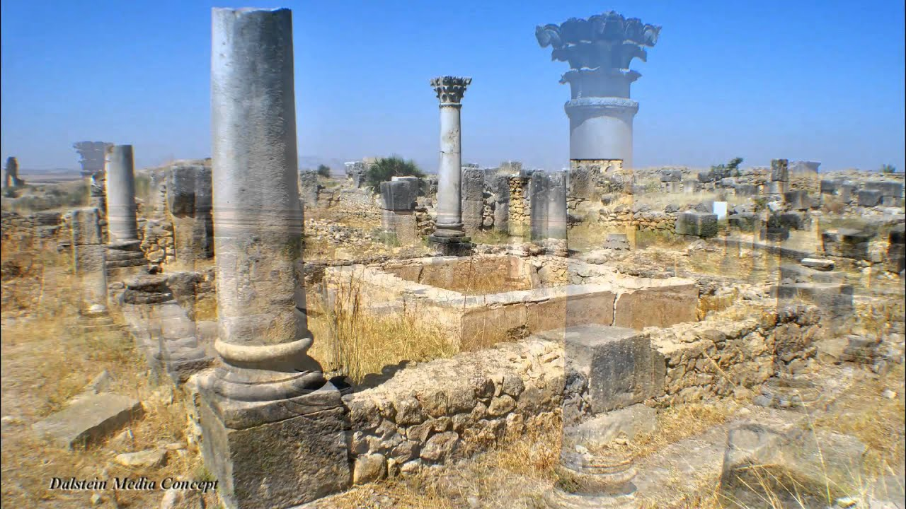 Volubilis antique ville romaine au maroc youtube for Piscine romaine
