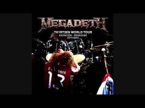 MEGADETH - Guns, Drugs & Money (Live in Paraguay)
