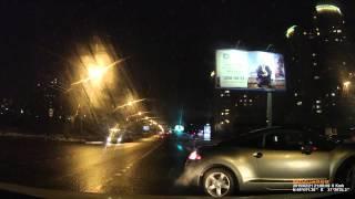 21.02.2015 Москва, ул.Удальцова. Случай на дороге.(, 2015-02-21T20:14:55.000Z)