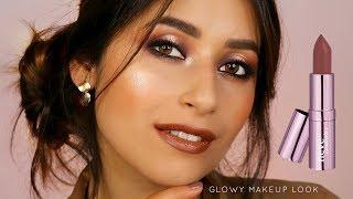 Natural GLOWY makeup look - Neve Cosmetics