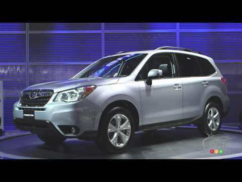 2014 Subaru Forester at the Montreal Auto Show