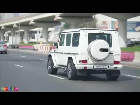 Sheikh Mohammed Bin Rashid Al Maktoum - G63 AMG Mercedes No.1 (سيارة حاكم دبي أثناء ذهابه إلى المول)