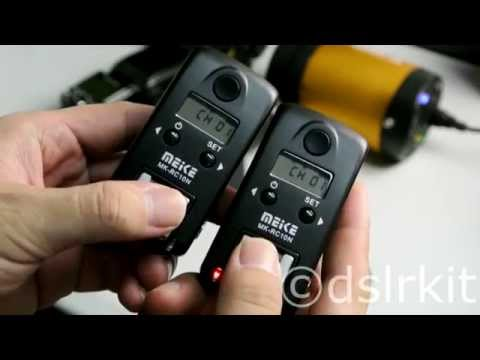 Meike wireless TTL flash trigger MK-RC10N for Nikon