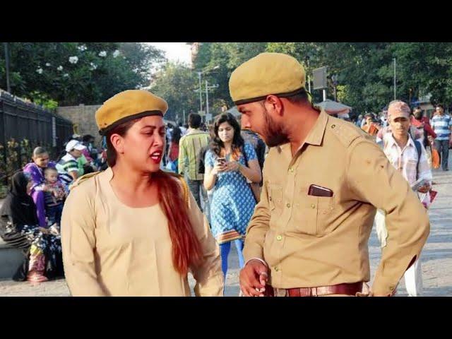 पुलिस का फ़िल्मी चक्कर || Daroga Gappu Or Gullo Ki Comedy || Hurrrh || New Comedy Video 2019 ||