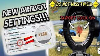 Rules Of Survival - NEW AIMBOT SETTINGS ⚙️ ✔️