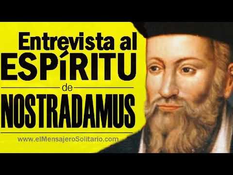 Entrevista al espíritu de Nostradamus | Descubre que futuro nos espera después de la crisis