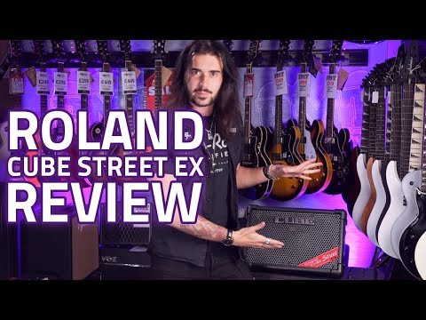 Roland Cube Street EX – A Powerful Battery Powered Amp