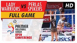 Lady Warriors vs. Perlas Spikers | WV Full Game | 2nd Set | PVL Open Conference | July 5, 2017