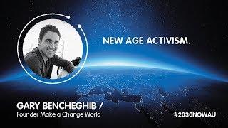 Gary Bencheghib, Founder Make a Change World