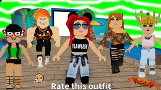 Fashion Frenzy Summer Dress Up Runway Show Video - Cookie Swirl C Let's Play Online Roblox