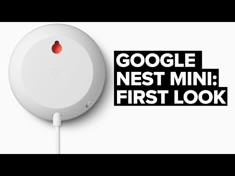 FIRST L👀K: The New Google Nest Mini (2nd Gen Google Home Mini)