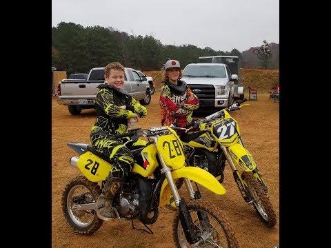 Nathans first motocross/dirt bike race!! : )