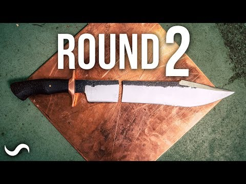 DOING THE FORGED IN FIRE CHALLENGE - ROUND TWO!!!
