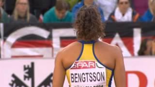 Angelica Bengtsson - Pole vault final in Zürich 2014