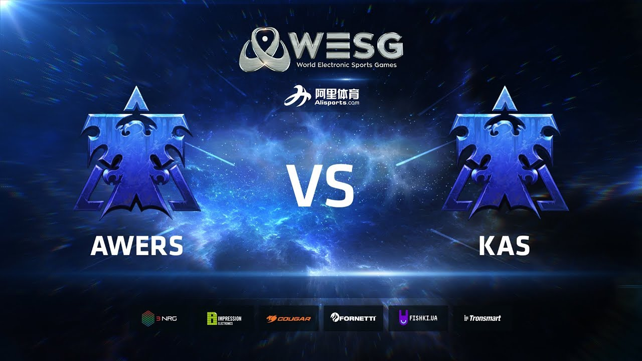 WESG Ukraine - Losers Round 2 Match 1: Awers (T) vs Kas (T)
