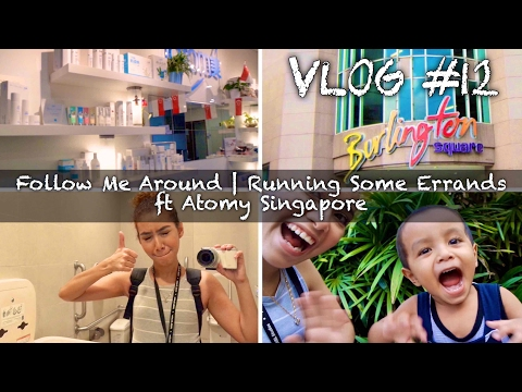 Vlog #12 | Follow Me Around - Running Some Errands ft Atomy