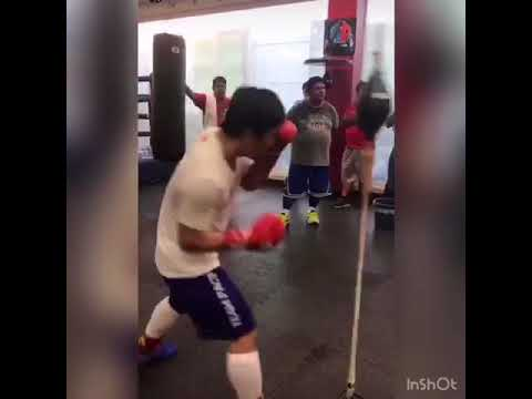 Manny Pacquiao Ready For Lucas Matthyyse Shows He Still Has Power & Speed